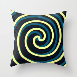 Twisted Portal Throw Pillow
