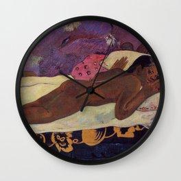 Paul Gauguin- The Spirit of the Dead Keep Watch Wall Clock