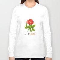 oitnb Long Sleeve T-shirts featuring Alex Vause | OITNB by Sandi Panda
