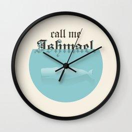Ishmael Wall Clock