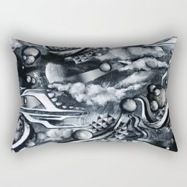 Re-Creation Of Impermanence Rectangular Pillow