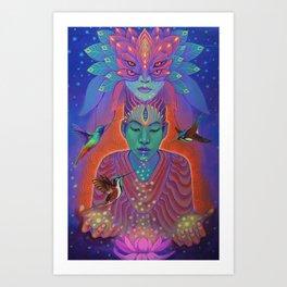 Espiritu Kolibri Art Print