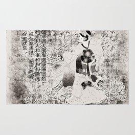 Tanzende Geisha Rug