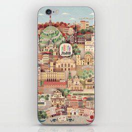 Lviv. Open for the World. iPhone Skin