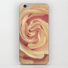 pale yellow rose iPhone Skin