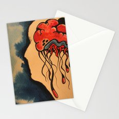 Jelly Brain Stationery Cards