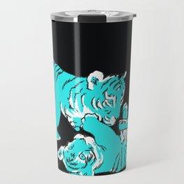 Oriental mini tigers Travel Mug