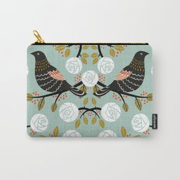 Winterbirds Carry-All Pouch