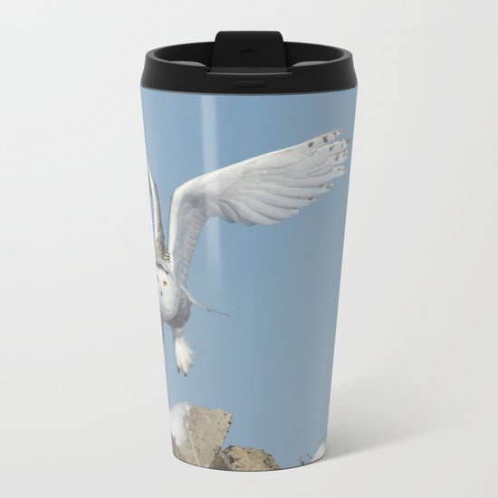 Her wings are my prayer Metal Travel Mug