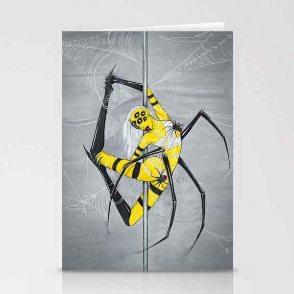 Poletober - Spider Stationery Cards