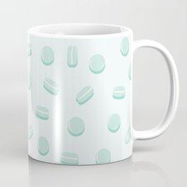 Mint Macaron Pattern Coffee Mug