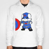avenger Hoodies featuring Avenger Dog by Rocky Moose