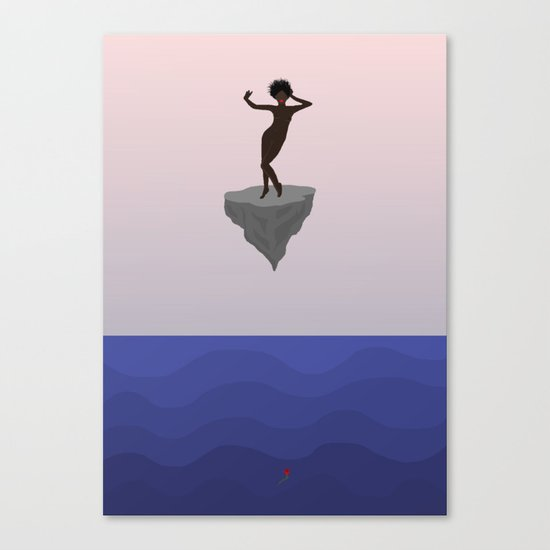Sunken Canvas Print