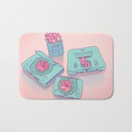 Flowers & Consoles Bath Mat
