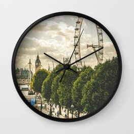 London 04 Wall Clock