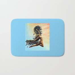 Season of the Legend - Icarus Descending Bath Mat