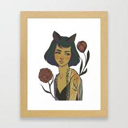 Kittie Framed Art Print