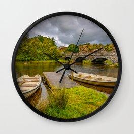Padarn Lake Bridge Llanberis Wall Clock