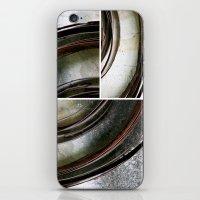 metal iPhone & iPod Skins featuring Metal by Erica Schiavi