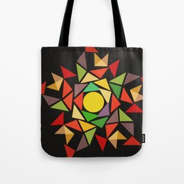 August sunset Tote Bag
