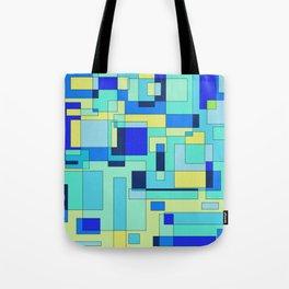 Digital geometric design 3 Tote Bag