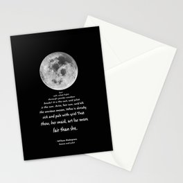 Moon Bridge Shakespeare Stationery Cards