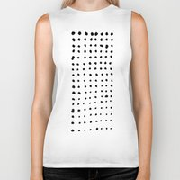 dots Biker Tanks featuring Dots by Geryes