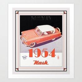 Automotive Art 114 Art Print
