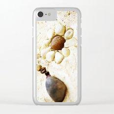 Pebble Daisy Clear iPhone Case