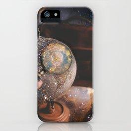 Glittery Globe iPhone Case