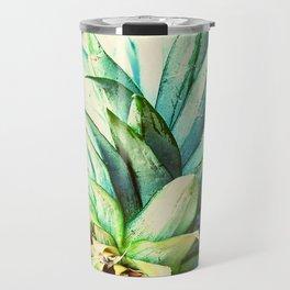 Green Pineapple Travel Mug