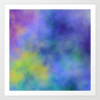 meditation Art Prints featuring Meditation by Christy Leigh