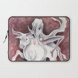 All Aboard the S.S. Cow (Europa & Zeus) Laptop Sleeve