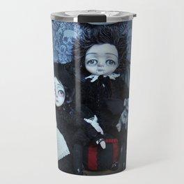 Vincent and Vanessa, the vampire children Travel Mug