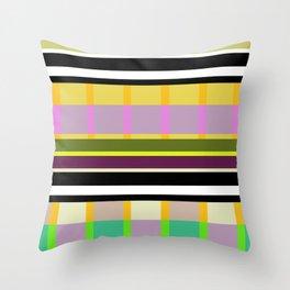 Stripe 4 Throw Pillow