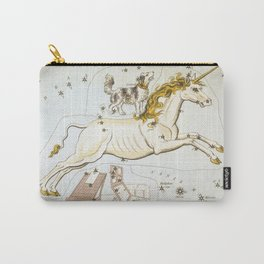 Vintage Unicorn Constellation Map (1825) Carry-All Pouch