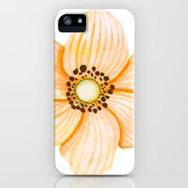 One Orange Flower iPhone Case