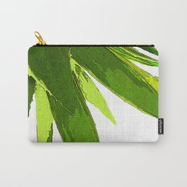 PALM TREE ON TROPICAL ISLAND FOLIAGE Carry-All Pouch