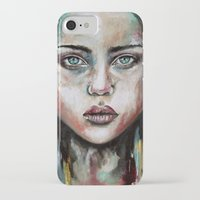 waterfall iPhone & iPod Cases featuring Waterfall  by Bella Harris