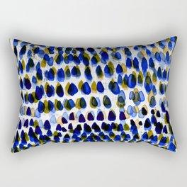 painted dots 6 Rectangular Pillow