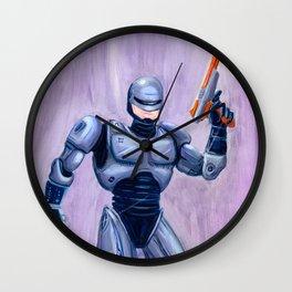 ROBcop Wall Clock