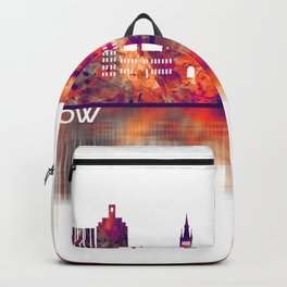 Glasgow Scotland Skyline Backpack