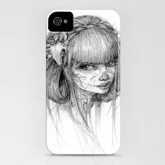 muertos iPhone (4, 4s) Slim Case