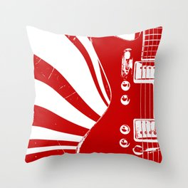 Airline Guitar - Jack W. Throw Pillow