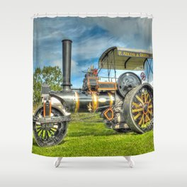 Fowler T3 Road Roller Shower Curtain