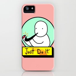 just do it. iPhone Case