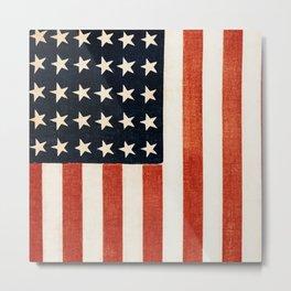 USA 36th Star Flag Metal Print