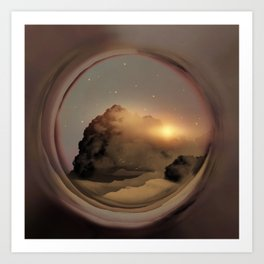 Full Circle Portal I Art Print
