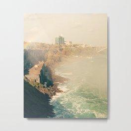 View from Horseshoe Falls, Niagara Falls, Ontario Fine Art Photography Print Metal Print