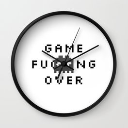 Game F*cking Over Wall Clock
